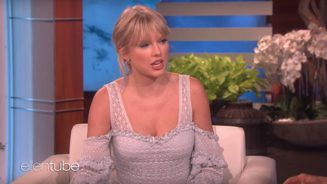 Taylor Swift talks about washing her legs on Ellen