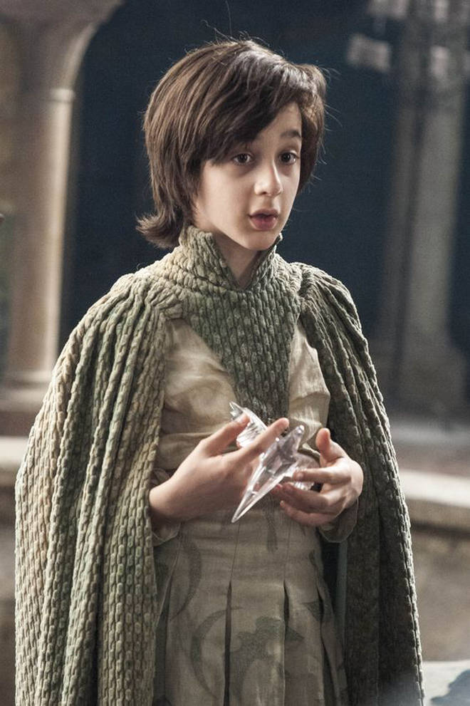Robin Arryn from Game of Thrones is played by actor Lino Facioli
