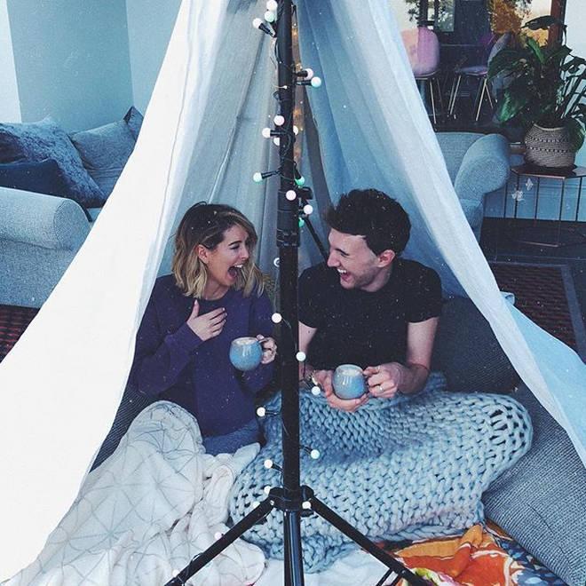 Zoella and Mark Ferris