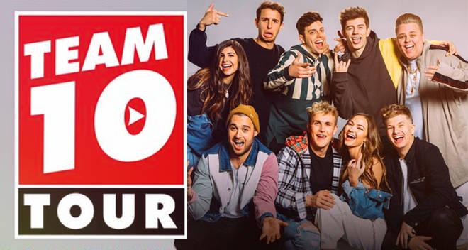 team 10 tour 2018