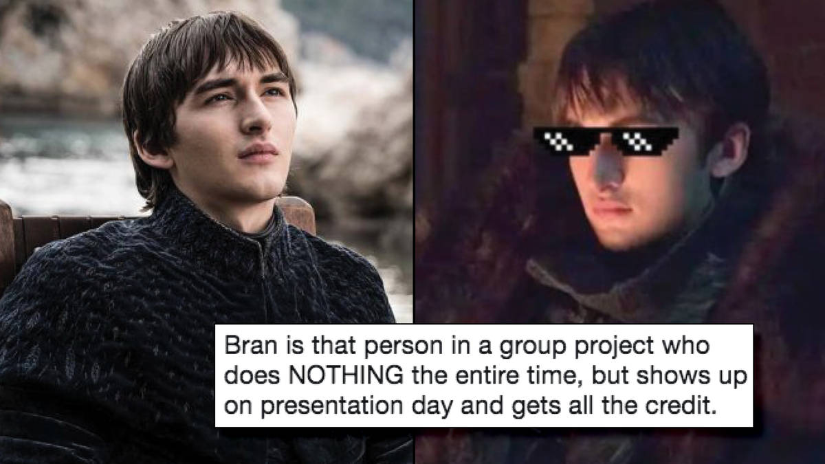 Bran the broken stark does nothing and gets the credit