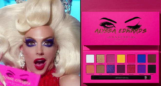 RuPaul's Drag Race's Alyssa Edwards has her own eyeshadow palette.