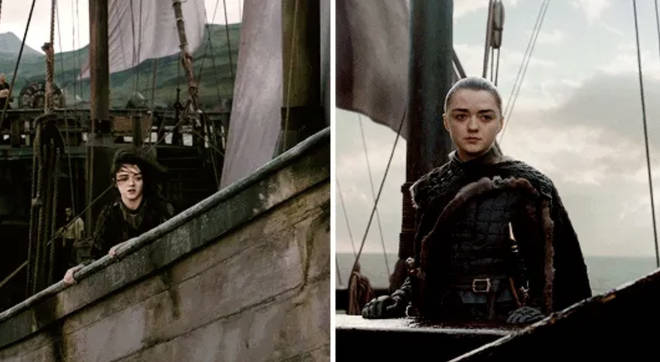 "Arya said she&squot;d ""like to see"" what&squot;s west of Westeros back in season 4, and y&squot;all missed it"