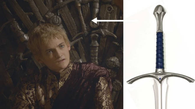 Lord of the Rings fans spotted Gandalf's sword in the Iron Throne