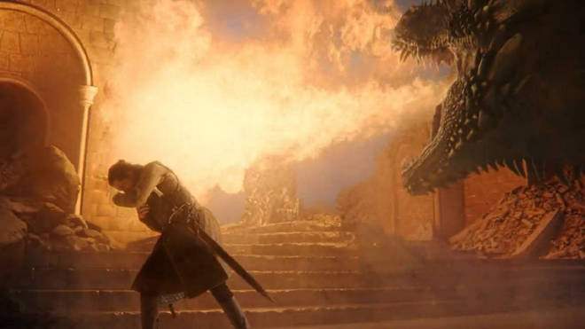 Drogon melted the Iron Throne, proving dragons really do understand metaphors