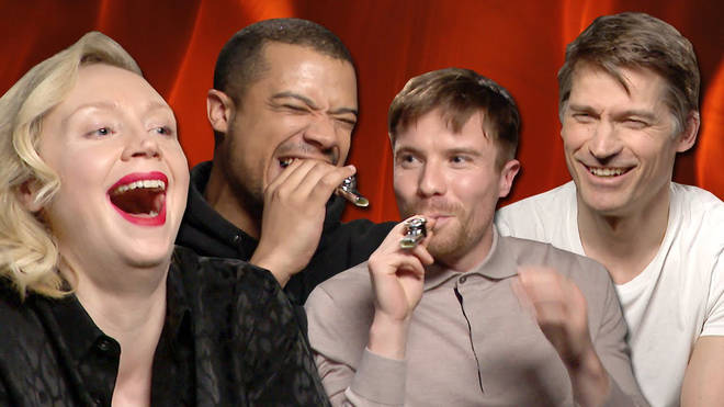 Game of Thrones cast play the theme tune on a kazoo