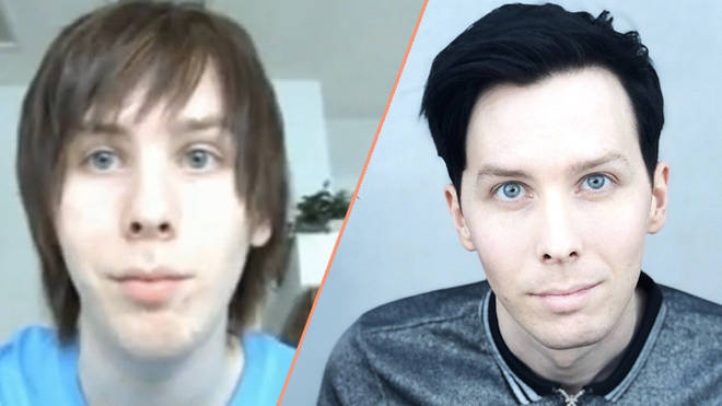 Phil Lester then and now