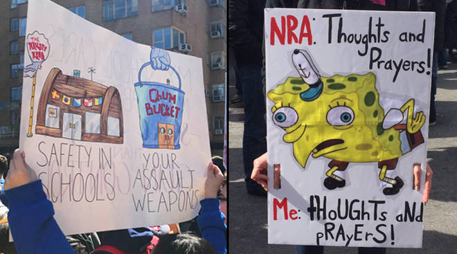 March For Our Lives Protest Signs