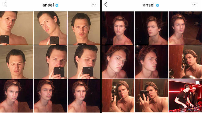 Ansel Elgort 17 shirtless selfies - The Goldfinch trailer