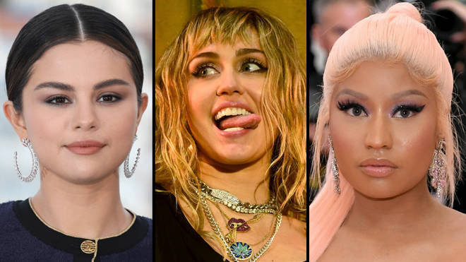 "Miley Cyrus explains the Selena Gomez and Nicki Minaj ""diss"" in her &squot;Cattitude&squot; lyrics"