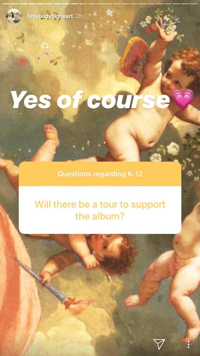 Melanie Martinez confirms she will tour K-12