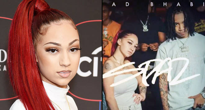 Bhad Bhabie, Danielle Bregoli, arrives at the Warner Music Group Pre-Grammy Celebration.