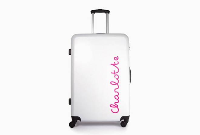 Love Island suitcase.