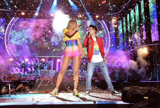 Brendon Urie Taylor Swift Wango Tango iHeartRadio