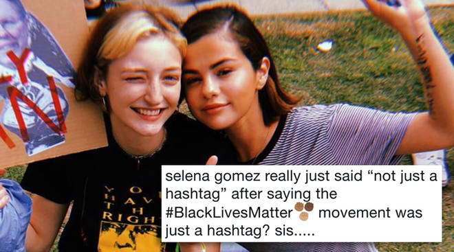 Selena Gomez March For Our Lives Black LIves Matter Hashtag