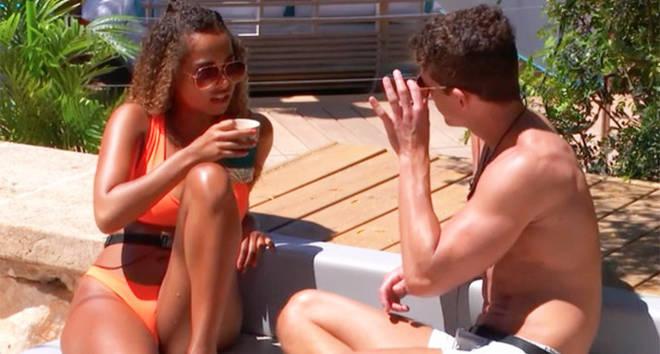 Love Island Amber Gill's sunglasses.