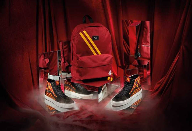 Vans Harry Potter collection Gryffindor