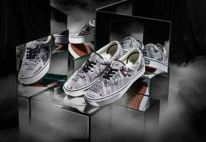 Harry Potter X Vans collection Marauder's map