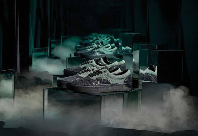 Vans X Harry Potter Slytherin shoe