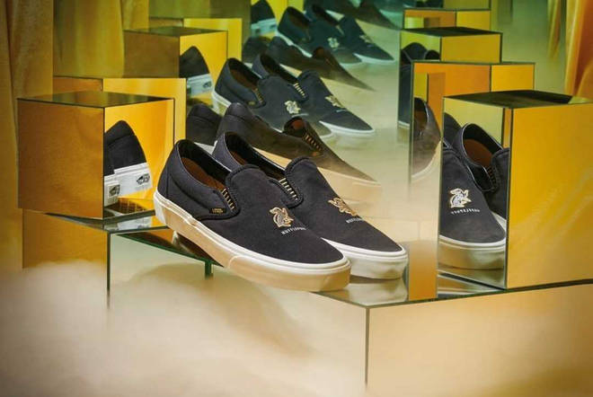 Hufflepuff Harry Potter x Vans shoe