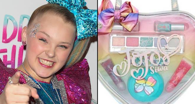 JoJo Siwa attends her Sweet 16 Birthday/makeup kit