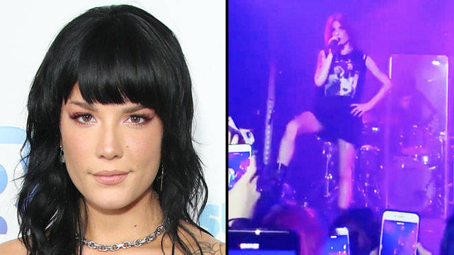 "Halsey slams ""Straight Pride"" with powerful speech and outfit at London concert"
