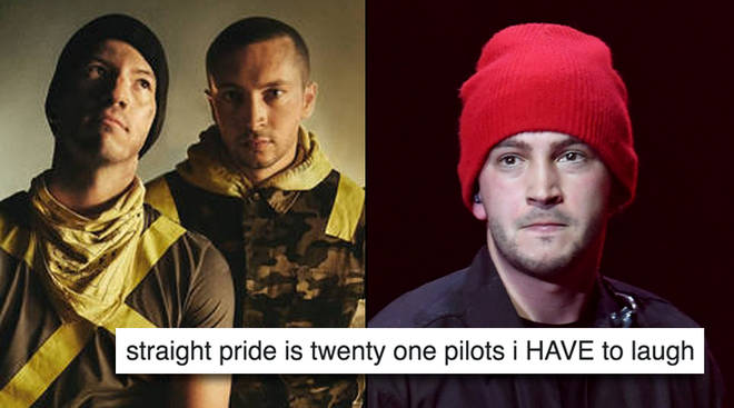 Fans are slamming an article that suggested Twenty One Pilots would play at a Straight Pride parade