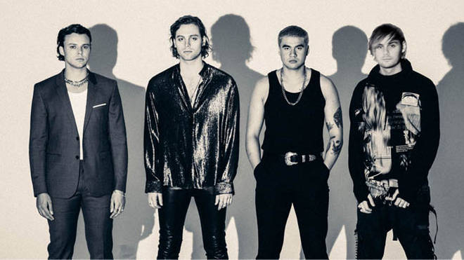 5 Seconds of Summer Easier Press Shot