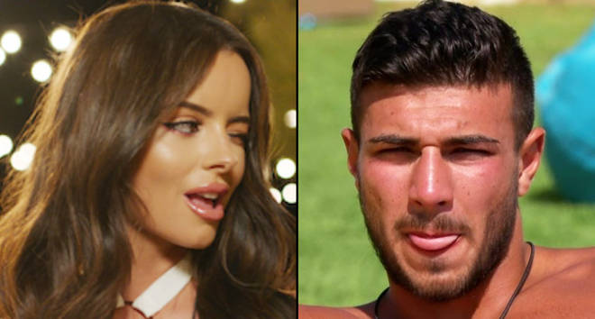 Maura Higgins and Tommy Fury Love Island