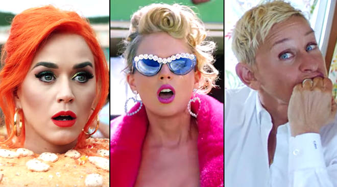 Taylor Swift You Need To Calm Down music video celebrity cameos - including Katy Perry and Ellen DeGeneres