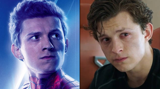 Tom Holland improvised his line in Tony Stark's death scene