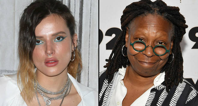 Bella Thorne attends the Build Series/Whoopi Goldberg attends Abbi Jacobson & Ilana Glazer.