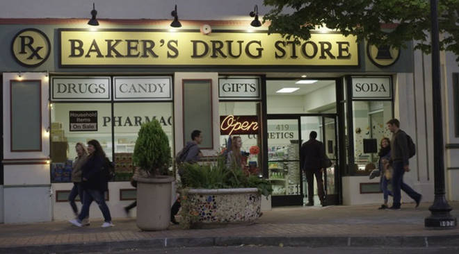 Baker's Drug Store 13 Reasons Why Location
