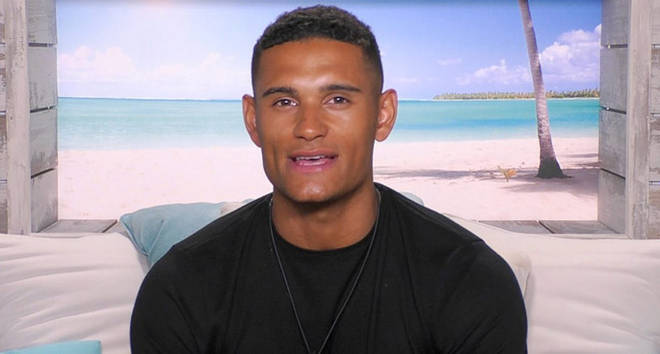 Love Island Danny Williams.