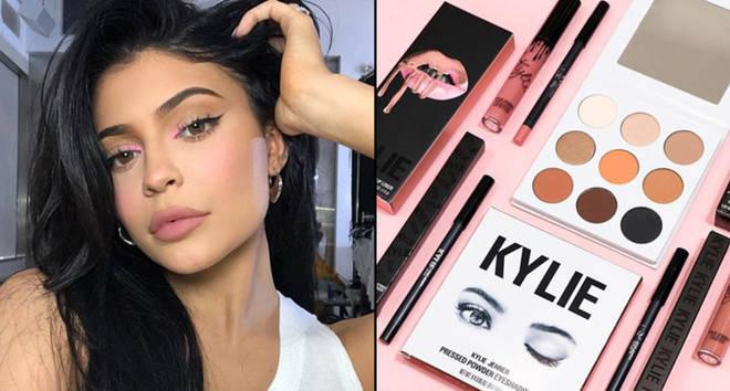 Kylie Jenner selfie/Kylie Cosmetics