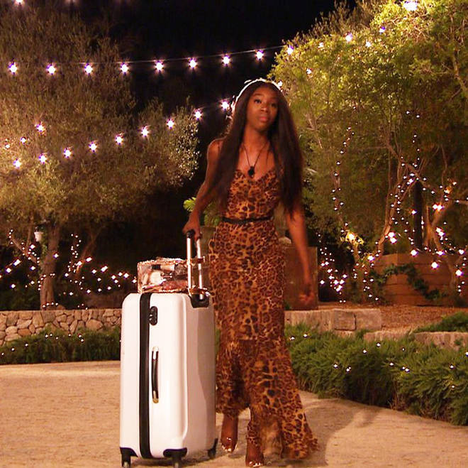 Yewande Biala leopard-print dress.