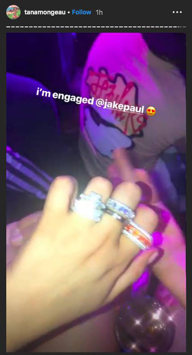 Tana Mongeau Jake Paul Engagement