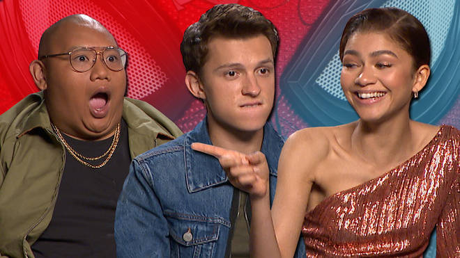Tom Holland, Zendaya and Jacob Batalon become memes for Spider-Man: Far From Home