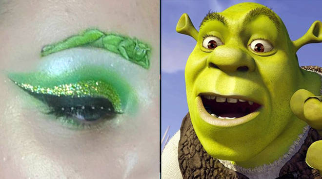 Shrek Eyebrows
