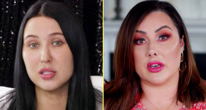 Jaclyn Hill and Marlena Stell on YouTube video.