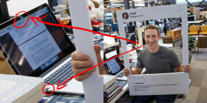 zuckerberg laptop tape microphone