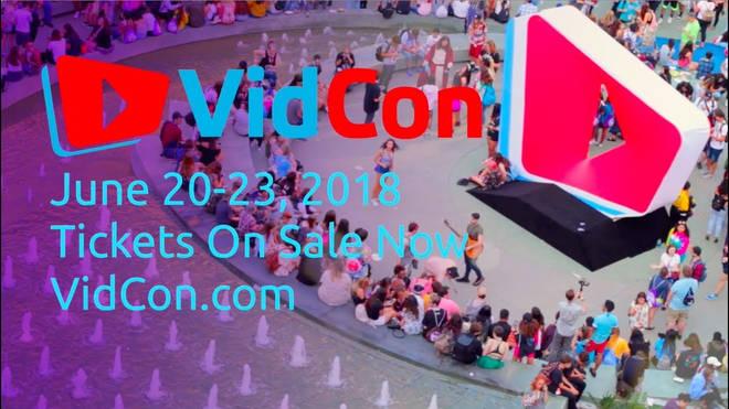 vidcon 2018 dates