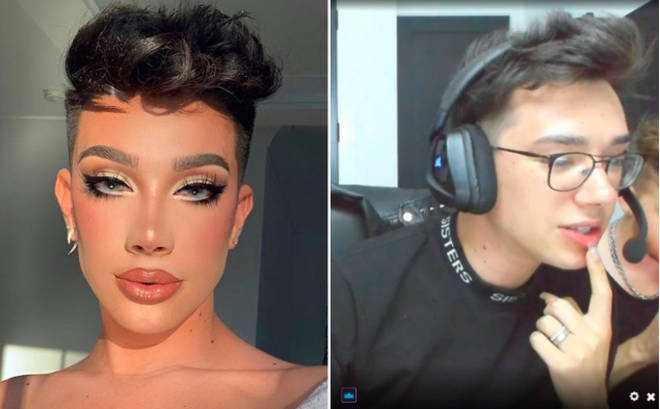 James Charles' first Twitch stream was shut down in less than a