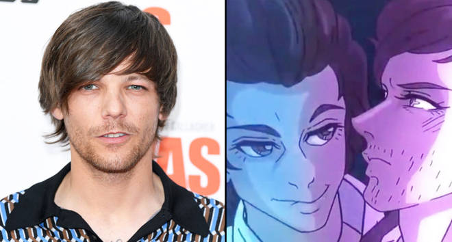 """Louis Tomlinson attends the World Premiere of """"Liam Gallagher: As It Was""""."""