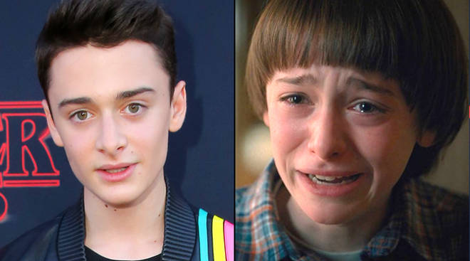 "Noah Schnapp says Stranger Things 3 is ""so sad""."