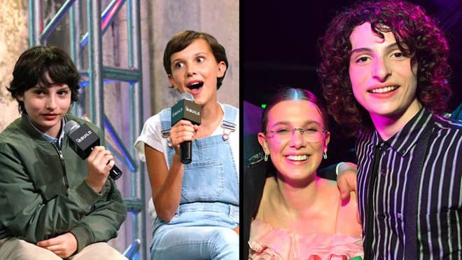 Stranger Things cast then vs now Millie Bobby Brown and Finn Wolfhard