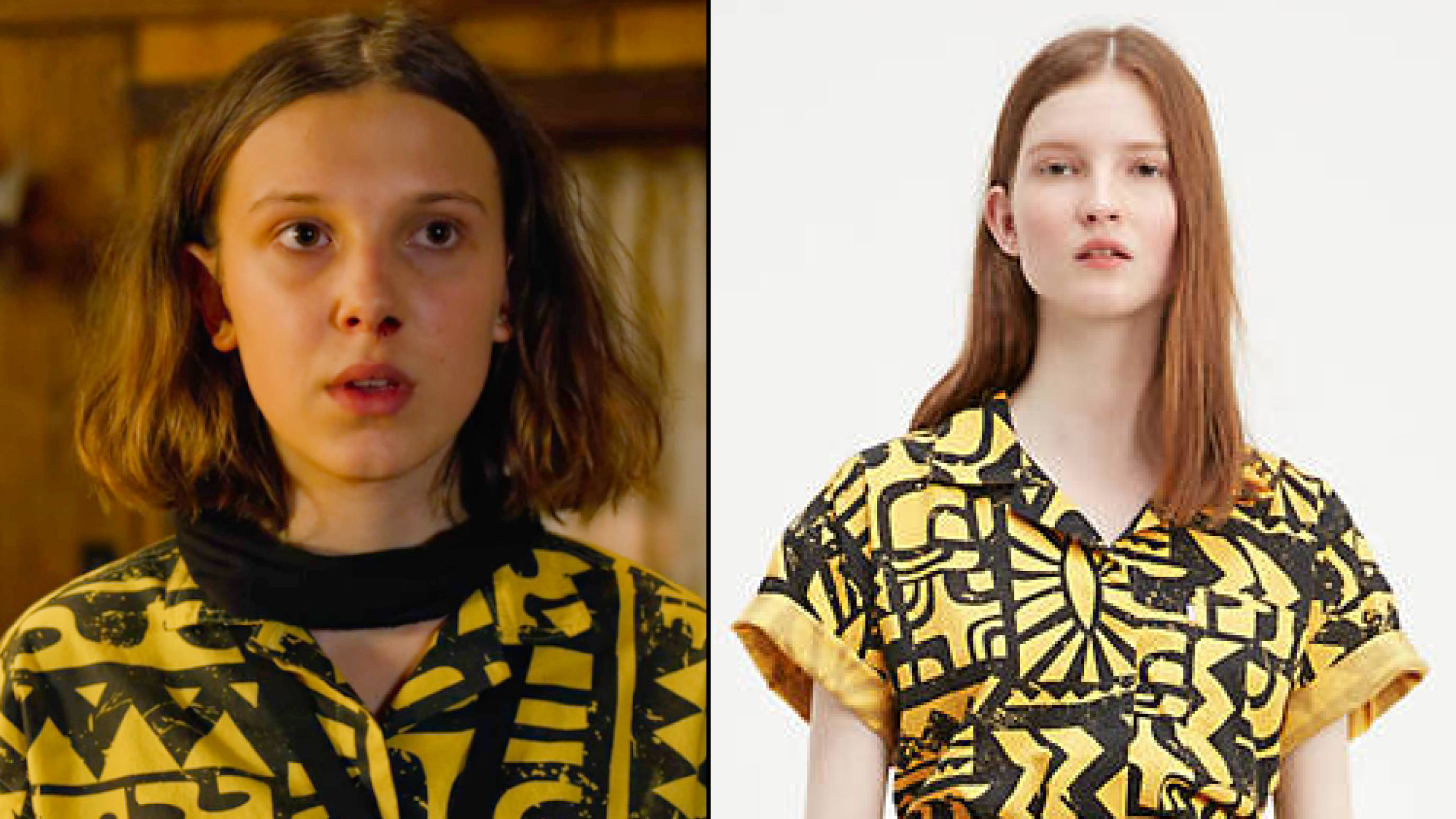 eleven s mall outfit roblox Here S Where To Buy Eleven S Yellow Shirt From Stranger Things 3 Popbuzz