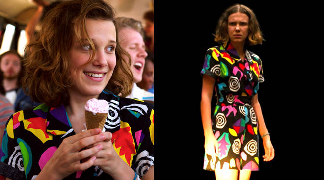 Where to buy Eleven's multicolour romper in Stranger Things 3?