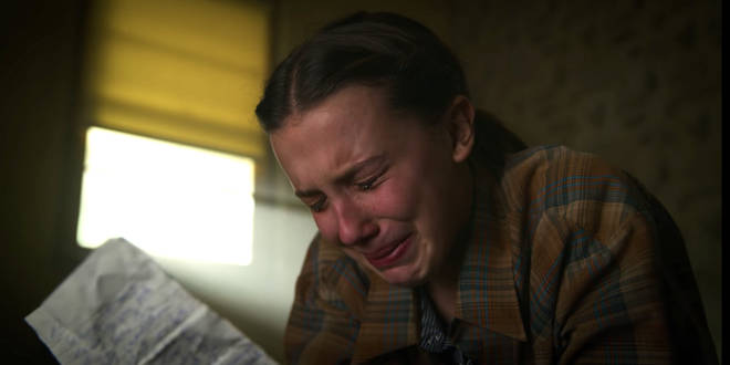 Eleven cries reading Hopper's speech