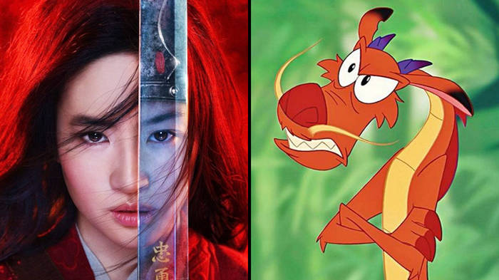 Mulan Are Mushu Shang And The Songs In The Live Action Film Popbuzz